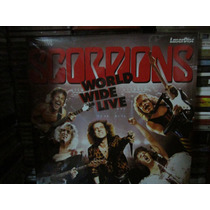 Scorpions Laser Disc World Wide Live Importado