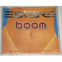 Boom Estare Cd Single Promo C/3 Versiones Unica Ed Año 2001