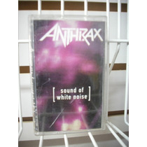 Anthrax - Sound Of White Noise Cassette Nacional