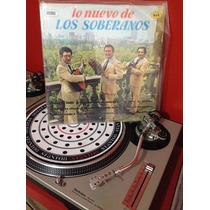 Coma Dj - Trio Los Soberanos - Lo Nuevo De.. Acetato Vinyl