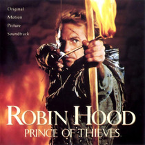 Kevin Costner Robin Hood Prince Of Thieves Cd Sountrack Usa