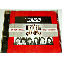 Cd Los Bukis / La Historia De Los Grandes