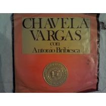 Disco Acetato De: Chavela Vargas Con Antonio Bribiesca 2 Dis