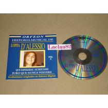 Lupita D´alessio Historia Musical Vol 3 - 2004 Orfeon Cd