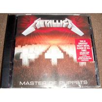 Metallica - Master Of Puppets Cd Nuevo, Importado