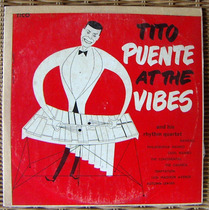 Afroantillana, Tito Puente, At The Vibes Lp 10´ Dvn