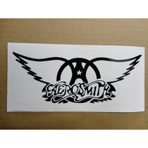 Sticker Vinil Calcomania Aerosmith Logo (21 X 8 Cm)