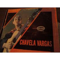 Disco Acetato De Chavela Vargas