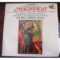 Clasica, Antonio Vivaldi, La Musica Sacra Vol3 Magnificat Lp