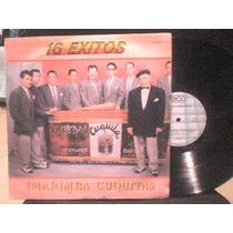 Disco Lp De Acetato Marimba Cuquita 16 Exitos