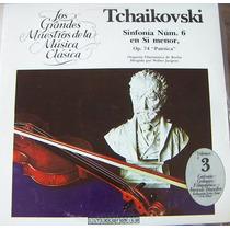 Clasica, Peter Tchaikovsky, Sinfonia Num 6. Op.74, Lp 12´,