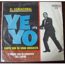 Afroantillana. Yeyo Canta Con Su Gran Orquesta. Lp12´.