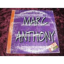 Marc Anthony Te Conozco Bien Cd Original De Coleccion!!