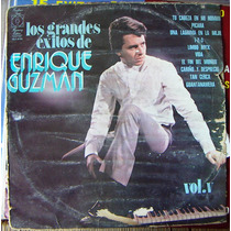 Rock Mexicano, Enrique Guzman Vol.5, Lp12´, Hecho En México.