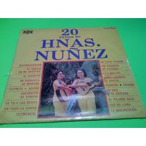 Disco Lp Hermanas Nuñez 20 Exitos Nuevo Cerrado