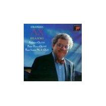 Piano Emanuel Ax - Brahms Fantasias Sonata Cd Bfn Grimaud