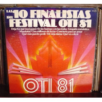 Festival Oti 81 Lp Yuri Joan Sebastian Sergio Esquivel