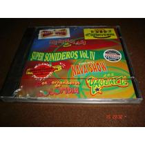 Grupo Cañaveral, Efren David-cd-super Sonideros Vo.iv Dmh