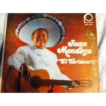 Disco Acetato De: Juan Mendoza 3 Discos