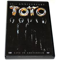 Dvd Toto 25th Anniversary, Live In Amsterdam (2004) Rgl