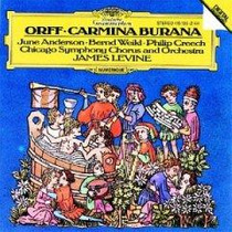 Carl Orff Carmina Burana Levine Cd Op4 Envio Gratis Opera