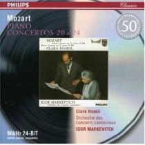 Piano Clara Haskil - Mozart Conciertos Cd Europeo Lipatti