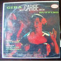 Afroantillana, Cuarteto Los Ruffino Gira Por El Caribe Lp 12