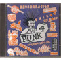 Punk - Volumen 4 ( Compilado Hardcore Punk Mexicano) Cd Rock