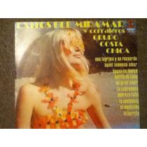 Excelente Disco Acetato De: Miramar,corraleros,costa Chica