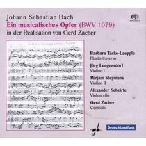 Sacd J. S. Bach Ofrenda Musical Musica Clasica