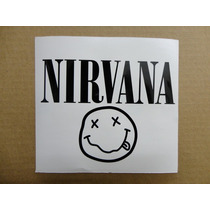 Sticker Vinil Calcomania Nirvana Logo (21 X 7 Cm)