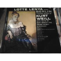 Disco Acetato De Lotte Lenya Sings Berlin Thatre Songs By Ku