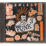 Punk - Volumen 3 ( Compilado Hardcore Punk Mexicano) Cd Rock