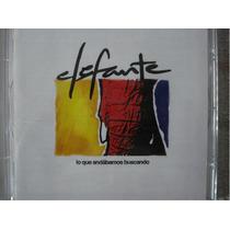Elefante / Cd Musica Album Lo Que Andabamos Buscando