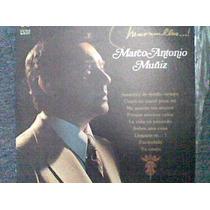 Disco L.p De Marco Antonio Muñiz