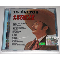 Cd 15 Exitos / Antonio Aguilar Nuevo Y Sellado!!