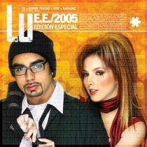 Cd Doble(cd+dvd+karaoke)de Lu:e.e./2005 Edicion Especial