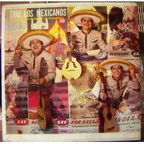 Bolero, Trio Los Mexicanos Con Acompañamiento De Mariachi