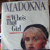 Rock Inter, Madonna, Who´s That Girl, Maxi 12´, Wsl