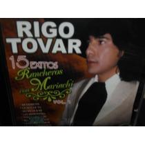Rigo Tovar 15 Exitos Rancheros Con Mariachi Vol.1 Cd Sellado