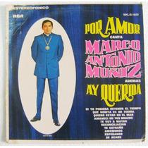 Marco Antonio Muñiz / Por Amor Disco Lp Vinil