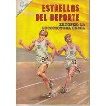 Estrellas Del Deporte Comics(novaro)años:60´s Y 70´s $200.00