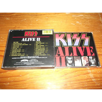 Kiss - Alive 2 Cd Doble Importado Ed 1990 Mdisk