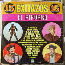 Bolero, Lalo Gonzalez El Piporro , 15 Exitos, Lp 12´, Eex