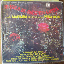 Bolero, Hnos. Peña Rios, Musica De Gonzalo Curiel, Lp 12´,