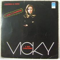 Vicky Y Sus Canciones 1 Disco Lp Vinilo