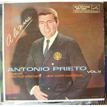 Bolero, Antonio Prieto, Vol.5, A La Novia, Lp 12´, Eex
