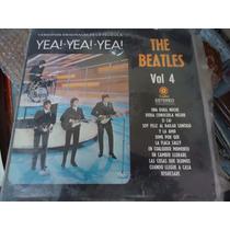 The Beatles Lp De 12, De 33rpm Yea Yea Yea! Vol 4 Ed. Nacion