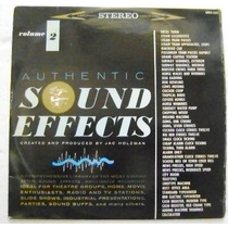 Efectos De Sonido / Sound Effects. Vol.2 1 Disco Lp Vinil