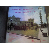 Disco Acetato De Marimba Gallito Musical Souvenir From Guate